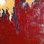 Another Color Field Painting Progress Inspired Clyfford Still