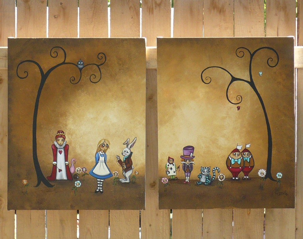 Another Painting Blog Alice Wonderland Encore