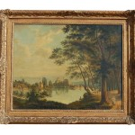 Antique Continental Oil Painting From Legacy Ruby Lane