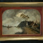 Antique Oil Paintings Now And Then Antiques