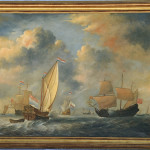Antique Ship Oil Painting Flickr Sharing
