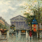 Antoine Blanchard Painting Madeleine Paris For Sale Antiques