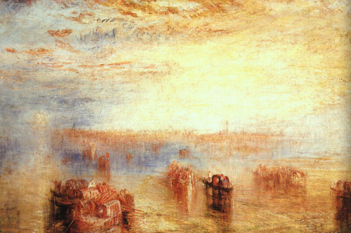 Approach Venice William Turner Wikipaintings