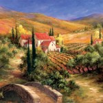 Art Fronckowiak Tuscan Bridge Painting