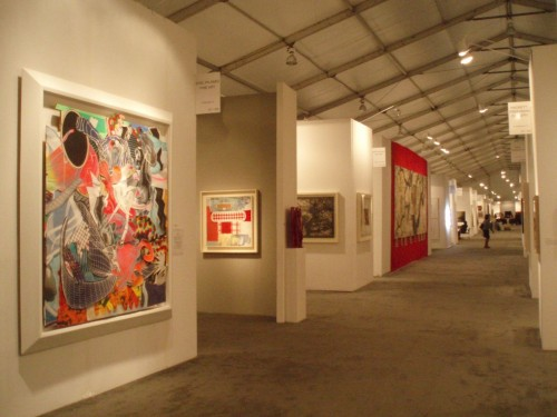 Art Galleries Display Large Airconditioned Tents