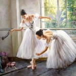 Art Gallery Oil Painting Ballet