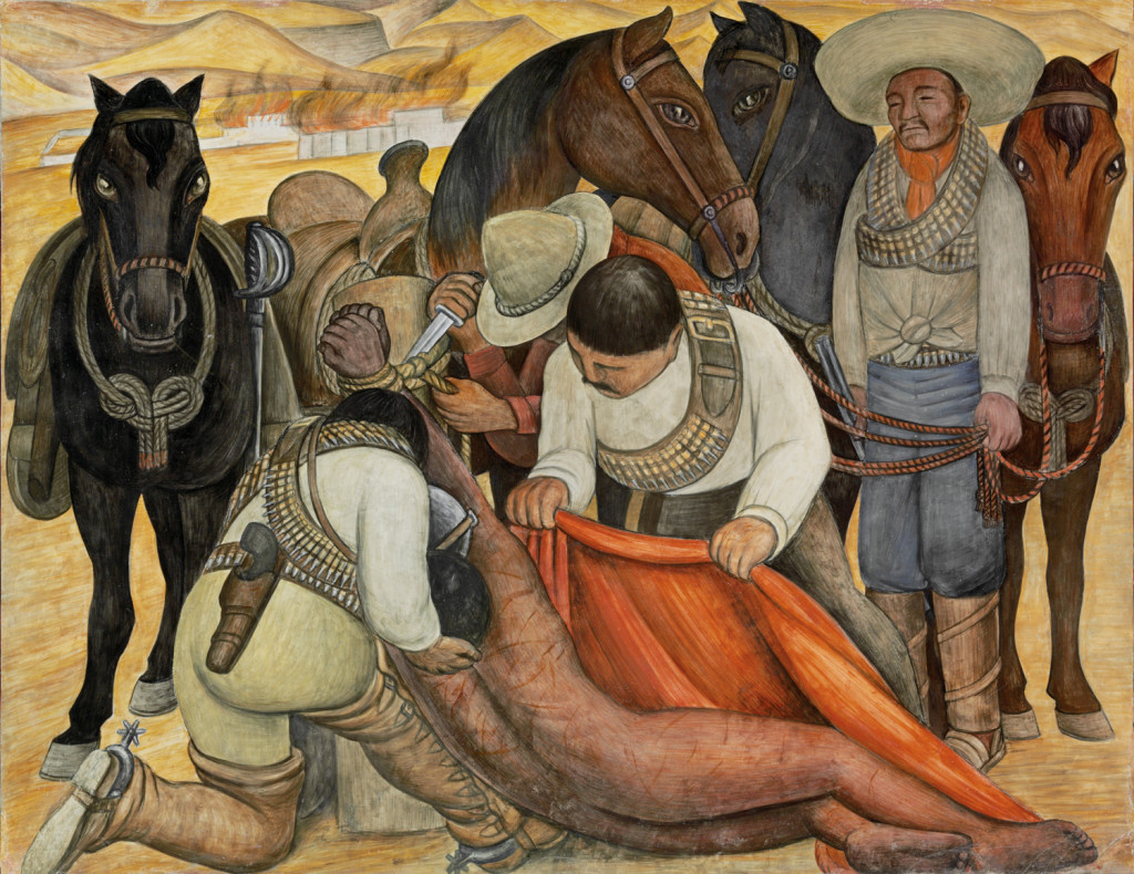 Art History News Diego Rivera Murals For The Museum Modern