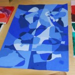 Art Lessons Leeann Monochromatic Paintings