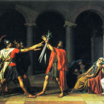 Art Paintings Oath The Horatii