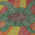 Art Paper Scissors Glue Aboriginal Dot Paintings
