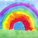 Art Projects For Rainbow Painting