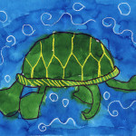 Art Projects For Sea Turtle Painting