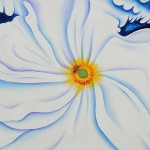 Art Reproduction Oil Painting Keeffe Paintings White Flower