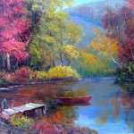Art Reproductions And Original Oil Paintings Landscapes Painting