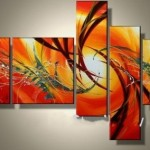 Art Sets Painting For Home Decoration Hand Painted Oil