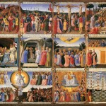 Art Tuscany Fra Angelico Paintings For The Armadio Degli