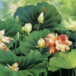 Art Wall Decor Traditional Chinese Flower Painting Artists Famous