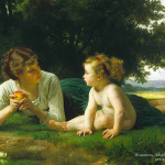 Art William Bouguereau Oil Painting Pictures