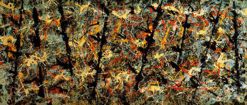 Artbabble Jackson Pollock Painting Techniques