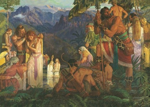 Arts News Insight Into Arnold Friberg Book Mormon Paintings