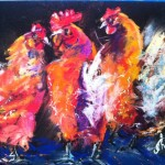 Artwork Inspirational Paintings Hen Party