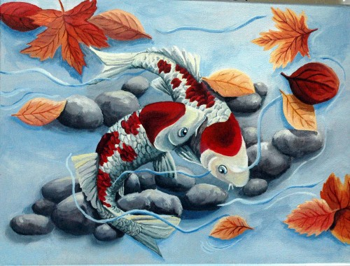 Artwork Koi The Fall Artist Suncat