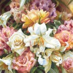 Attractive Watercolor Flower Paintings Beautiful Nature Creative
