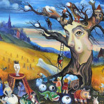 Autumn Ivan Khokhlov Surreal Paintings Art For Sale Surrealism