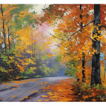 Autumn Oil Paintings Flickr Sharing