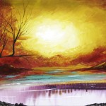 Autumn Tree Painting Canvas Art Modern Landscape Dapore Blog