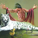 Back Christian Artist Painting Paintings
