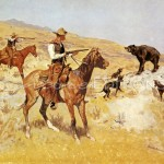 Back Frederic Remington His Last Stand Painting Purchase