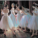 Ballet Oil Painting Paintings