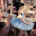 Ballet Paintings Day Paint Blog