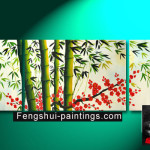 Bamboo Painting Paintings
