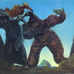 Barbarians Marching The West Max Ernst Wikipaintings