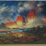 Barnhill Indian Traders Jack Trading Post Western Oil Paintings
