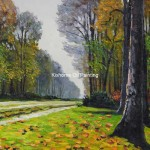 Bas Breau Fontainebleau Monet Reproduction Oil Paintings Famous