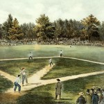 Baseball Grand Match Elysian Fields Fine Art Prints And Posters For