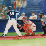 Baseball Painting Bobby Walters Love Fine Art Prints