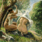 Bathers Camille Pissarro Wikipaintings