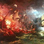 Bbc Your Paintings Defeat The Spanish Armada August