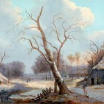 Bbc Your Paintings Dutch Winter Scene