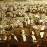 Bbc Your Paintings English Ships And The Spanish Armada August