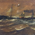 Bbc Your Paintings Steam Ship