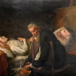 Bbc Your Paintings Tintoretto Painting His Dead Daughter