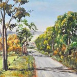 Beasley Country Road Landscape Large Signed Oil Painting Ebay