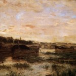 Below The Pont Lena Berthe Morisot Oil Painting Reproduction