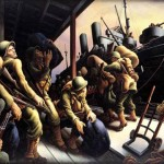 Benton Painted Many Images About The War And