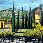 Bernard Buffet Artist Biography Painting Style Famous Paintings